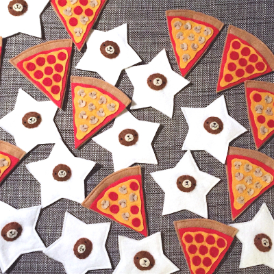 Pizza stars